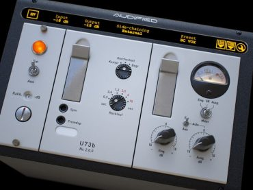 Audified gives German broadcast compressor/limiter-emulating plug-in an 'audiovisual' makeover