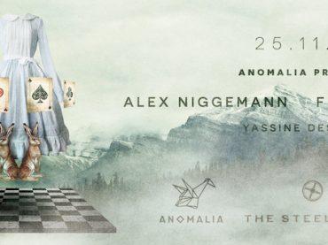 Alex Niggemann, Fur Coat and Somne headline Anomalia this month
