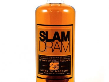 Soma Records announce Slam Dram, their 25-year-old whiskey