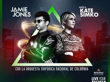 Jamie Jones and Kate Simko premiere live orchestral show in Colombia, a first orchestral-electronic concert of its kind in Latin America