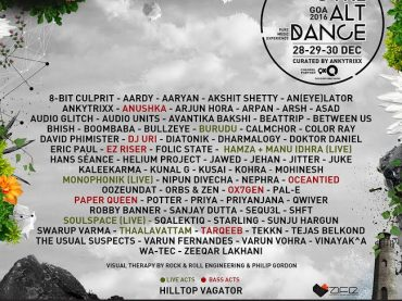 CTRL ALT DANCE returns to Goa, India 28th, 29th and 30th of December