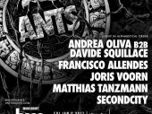 BPM 2017: ANTS announce takeover with b2b from Andrea Oliva and Davide Squillace on Friday 6th January