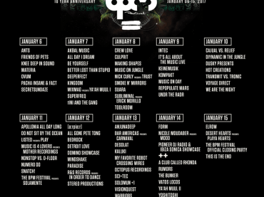 The BPM Festival 10th Anniversary Artist Lineup & 80 Showcases Announced