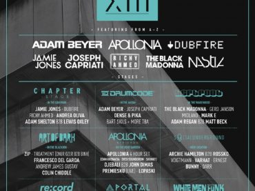 CHAPTER XIII announce second wave of acts with Nastia, East End Dubs, Solardo, Nathan Barato and more