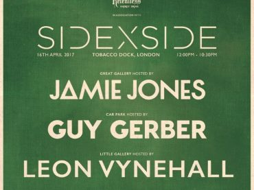 SIDEXSIDE Tobacco Dock, 16th April featuring room hosts Leon Vynehall, Guy Gerber & Jamie Jones