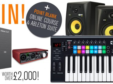 Register to Point Blank to win a producer pack, online course & Ableton Suite worth over £2000!