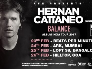 Decoded Magazine is proud to sponsor the Hernan Cattaneo Balance Album India Tour
