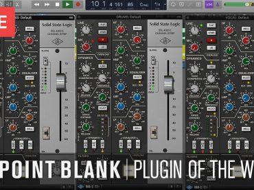 Point Blank Plugin Of The Week: SSL 4000 E (Channel Strip Plugin)