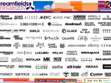 Creamfields announce their lineup for 2017