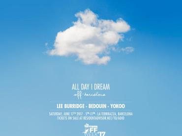 All Day I Dream drifts into La Terrrazza on Saturday 17th June for Off-Sonar 2017