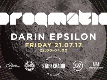 Progmatic announce next event with Darin Epsilon at Stage & Radio