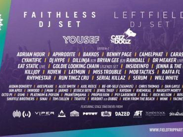 Field Trip Festival announce 2017 line up with headliners Leftfield and Faithless