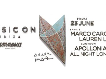 Music On is ready for this season's sixth night, Marco Carola will be joined by Lauren Lane and Apollonia
