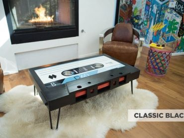 TAYBLES: The Original Cassette Tape Coffee Table