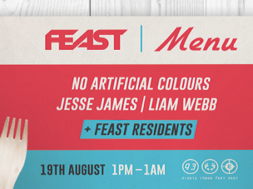 FEAST announce Summer Party at 93 Feet East With No Artificial Colours, Jesse James and more