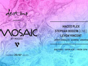 Maceo Plex Reveals Line-up for Mosaic at Destino w/ Stephan Bodzin, Levon Vincent, Javier Gonzalez + more