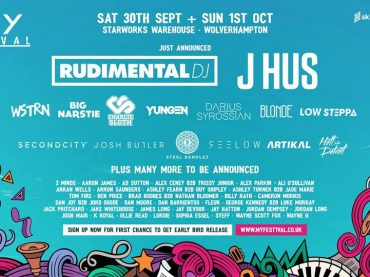 MY Festival announce Rudimental, Josh Butler, Darius Syrossian, Big Narstie, Second City and more for Starworks Warehouse