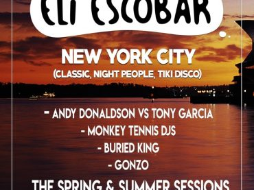The Rotarydisco crew kick off their monthly spring and summer season with the legendary Eli Escobar