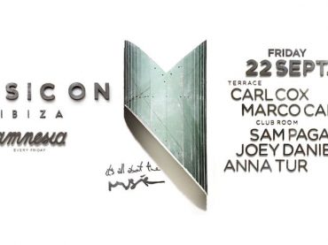 Marco Carola will be joined by Carl Cox, Sam Paganini, Joey Daniel, and Anna Tur for Music On at Amnesia