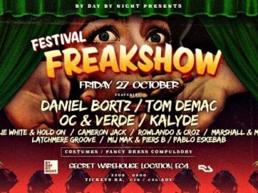 ByDay ByNight announce Halloween Festival Freakshow at The Steelyard London