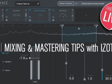 Friday Forum Live with Point Blank Music School : Mixing and Mastering Tips Using iZotope Ozone 8 and Neutron 2