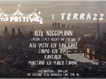 The Little Festival round off the year with Alex Niggemann this Bonfire weekend at The Steelyard London