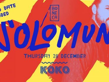 Solomun announces extra date at Koko London