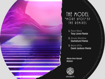 The Model's 'More UFOs EP' features a superb selection of remixes from Tony Lionni, Daschund, and David Jackson