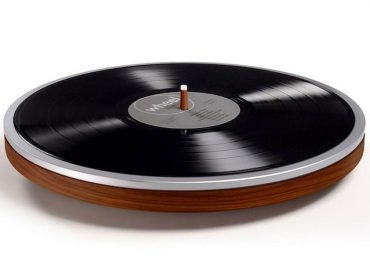 Wheel by Miniot, the record player that is just a wheel