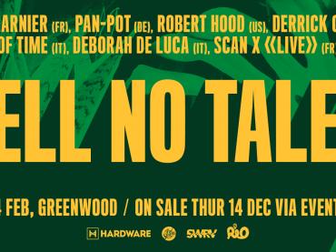Sydney Tell No Tales Summer Edition featuring Laurent Garnier, Pan-Pot, Robert Hood, Derrick Carter and more