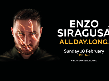 FUSE announce Enzo Siragusa 'All Day Long' at Village Underground