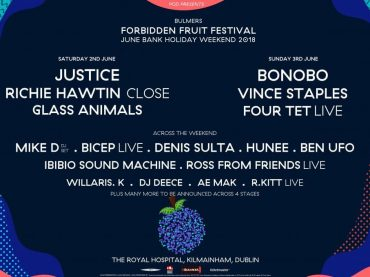 Bulmers Forbidden Fruit Festival announce Justice, Richie Hawtin, Bonobo, Fout Tet [Live] and more