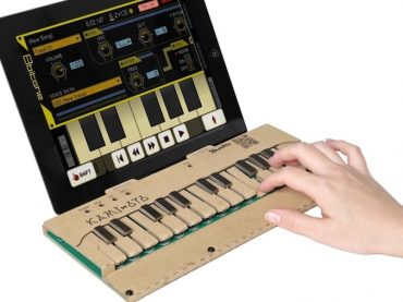 KAMI-OTO DIY Cardboard Musical Keyboard launched on Kickstarter