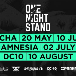 Full line-ups announced for ONE NIGHT STAND Ibiza with CARL COX