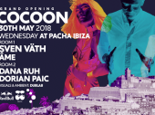 Papa Sven presents Cocoon's first Wednesday night at Pacha with Âme, Dana Ruh and Dorian Paic