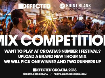 Mix Competition: Play a set at Defected Croatia 2018 + free flights and accommodation