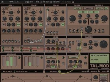 Togu Audio Line release the Beta version of TAL-Mod
