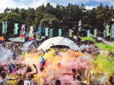 Volunteer at the UK's top music festivals and raise cash for disabled children