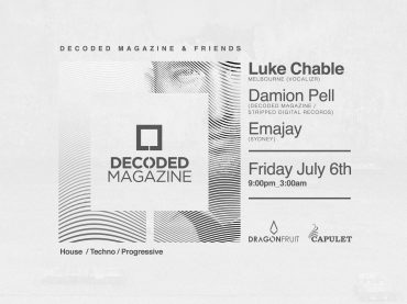 We celebrate our 4th birthday with the launch of Decoded & Friends in Australia with Luke Chable