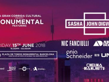 Sasha & Digweed land in Barcelona's Bullring on June 15th