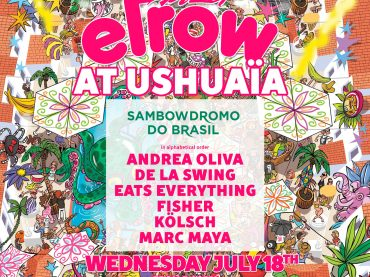 Ushuaïa Ibiza announce the lineup for their debut of elrow