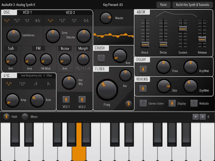AudioKit release free open-source Synth One for iPad - Decoded Magazine