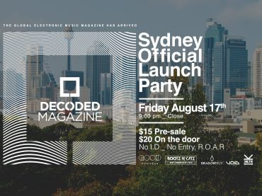 Decoded Magazine is coming to Sydney