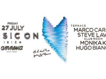 Marco Carola welcomes Steve Lawler, Monika Kruse, and Hugo Bianco to Music On Amnesia