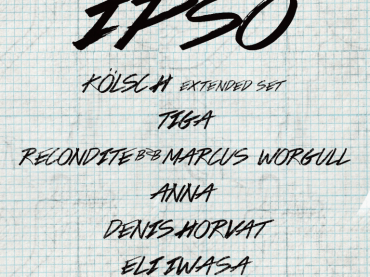 Kölsch reveals full line-up for 'IPSO' ADE 2018 party