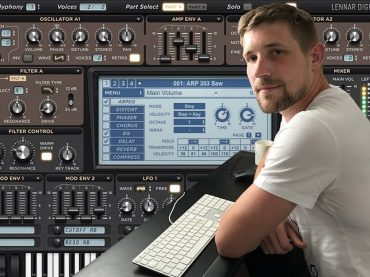 Watch a masterclass on making a synth lead in Sylenth1 with Stonebank (Monstercat)