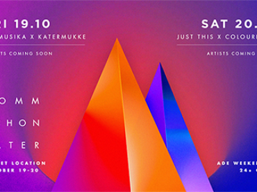 komm schon Alter will host not one, but two ADE nights at the Singel Studios in Amsterdam