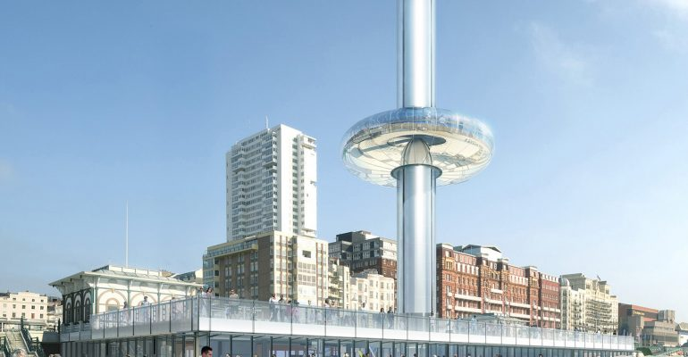 Brighton Music Conference is announcing news of its exciting new venue for BMC19, the British Airways i360 near the West Pier on Brighton Seafront