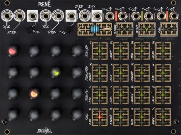 Make Noise have updated their immensely popular René sequencer