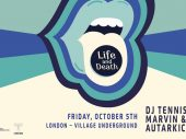 Life and Death returns to Village Underground – London, October 5th